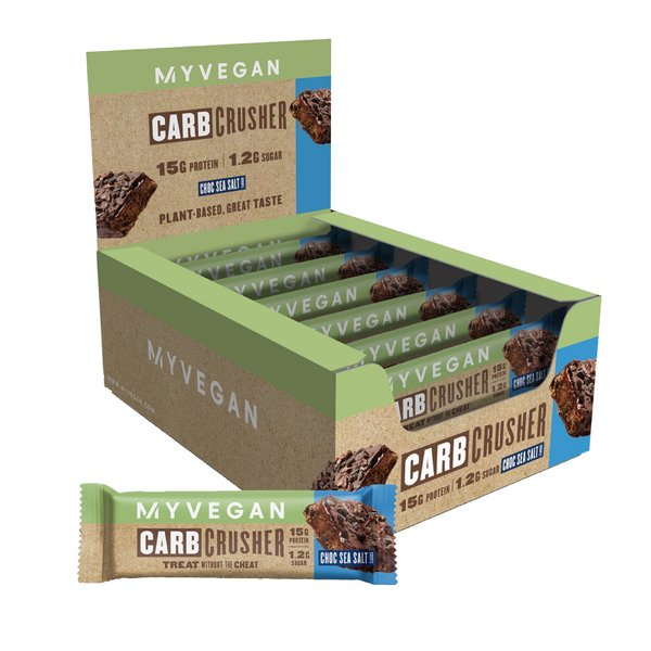 MyVegan Carb Crusher Protein Bar (Box of 12)