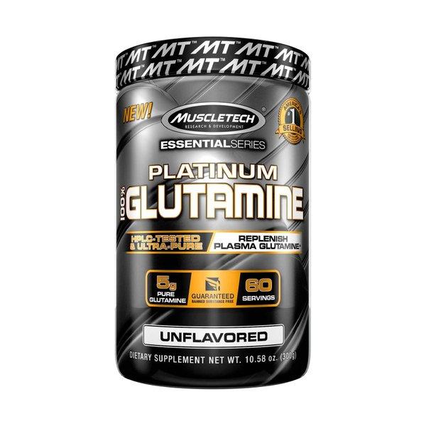 MuscleTech Platinum 100% Glutamine (60 Servings)