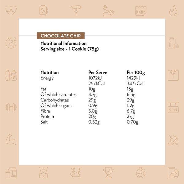 MyProtein Gooey Filled Protein Cookie (Box of 12)