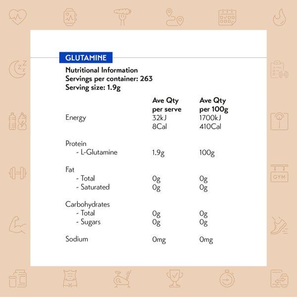 International Protein Glutamine (500g)